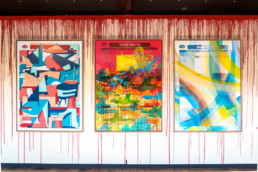 Sang9, exposition, abstraction, mouvement, Paris