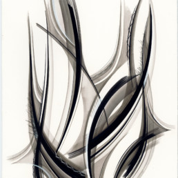 black lines, mouvement, abstract, abstrait, dessin, encre de Chine